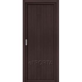 Раздвижная дверь Эльпорта Серия Twiggy (M1) Wenge Veralingа