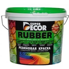 Резиновая краска SUPER DECOR №01 Ондулин зеленый