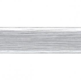 Плинтус напольный ПВХ RicoLeo 112 Ясень Серый