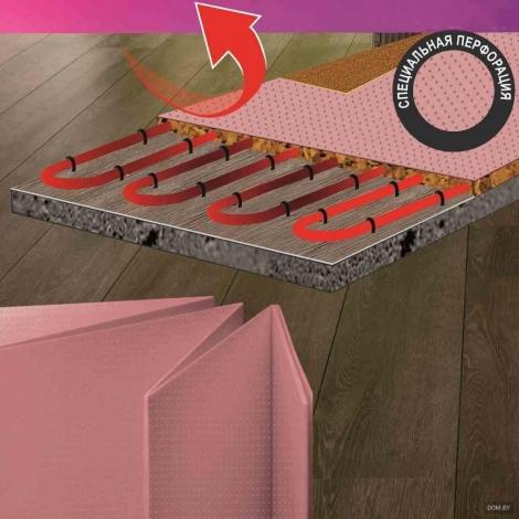 Солид перфорированная розовая 1.8 мм